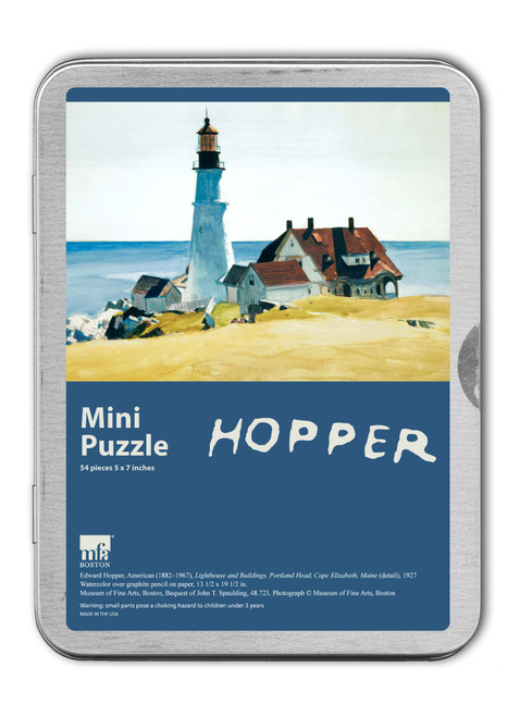 Edward Hopper, Lighthouse and Buildings Puzzle - 54 Pieces