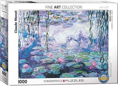 Claude Monet, Waterlilies IV Puzzle - 1000 Pieces