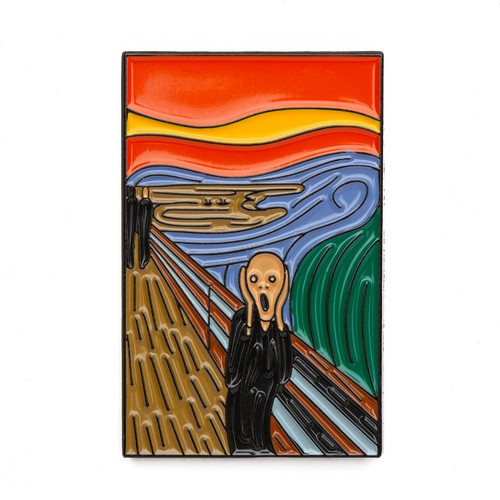 "Edvard Munch ""The Scream"" Enamel Pin"