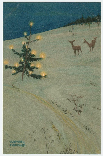 MFA Christmas Tree  and Deer  Holiday Cards