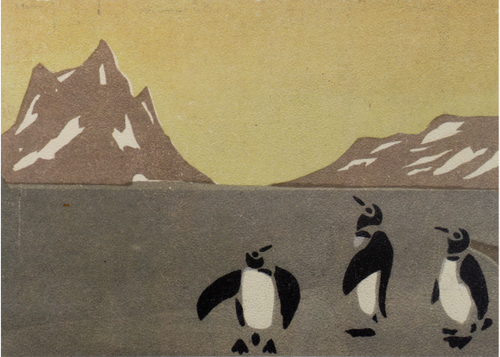 MFA New Year's Card: Penguins Holiday Cards