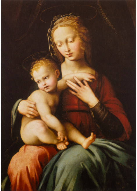 MFA Virgin and Child Holiday Cards
