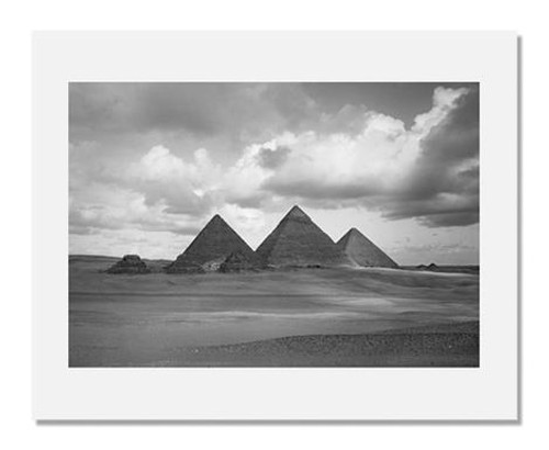 Artist Unidentified, The Pyramids of Giza