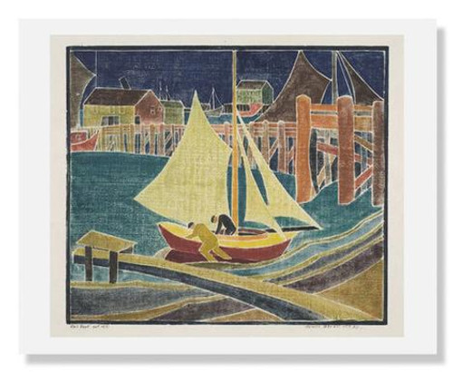 Blanche Lazzell, Sail Boat