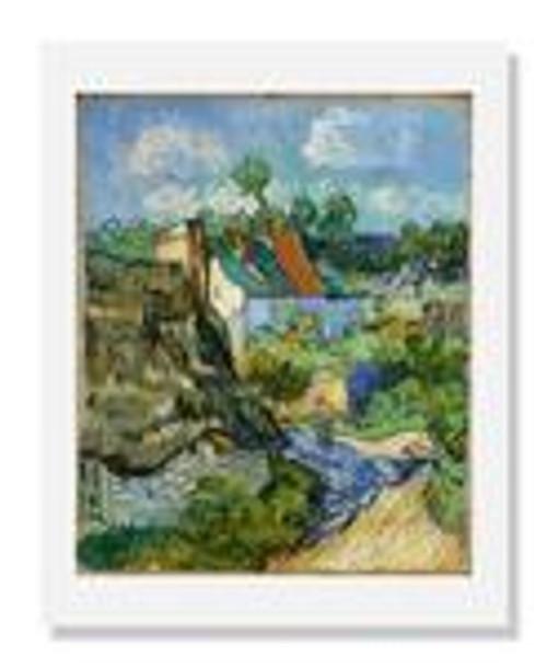 Vincent van Gogh, Houses at Auvers
