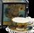 Van Gogh Sunflowers Cup & Saucer