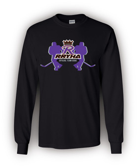 RRYHA Adult Long Sleeve   -   w/Player Name & Number    -    Great Xmas Gift