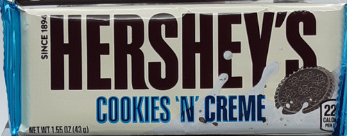 Hershey's Cookies and Cream Standard Bar  43g