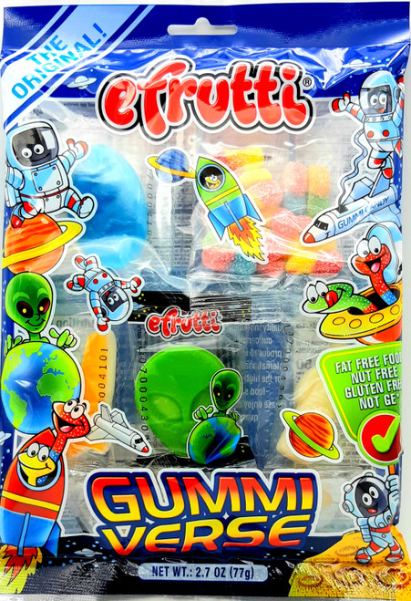 E-Frutti Gummiverse Space GummiesTray