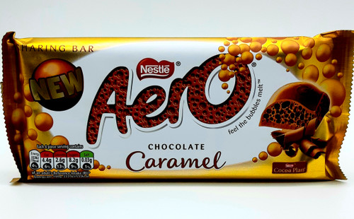 Aero Chocolate Caramel Sharing Bar UK