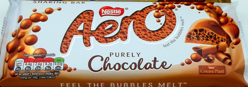Aero Chocolate Sharing Bar UK