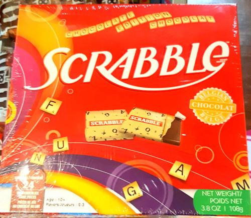 Scrabble Christmas Chocolate Edition - Belgian Milk Chocolate