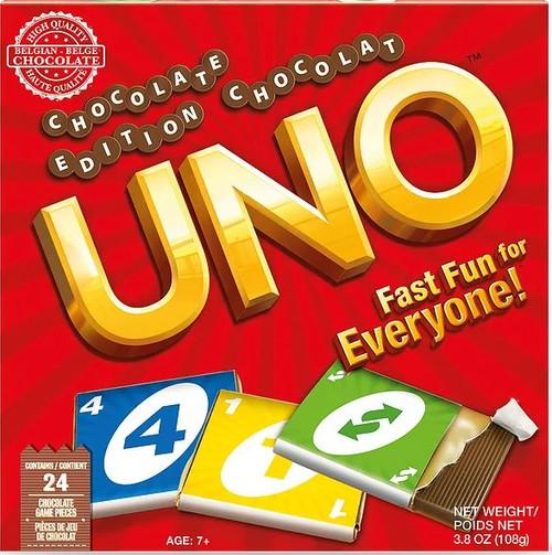 UNO Christmas Chocolate Edition