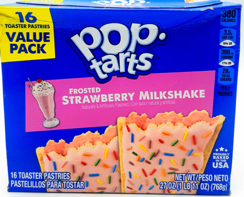 Pop Tarts  Frosted Strawberry Milkshake