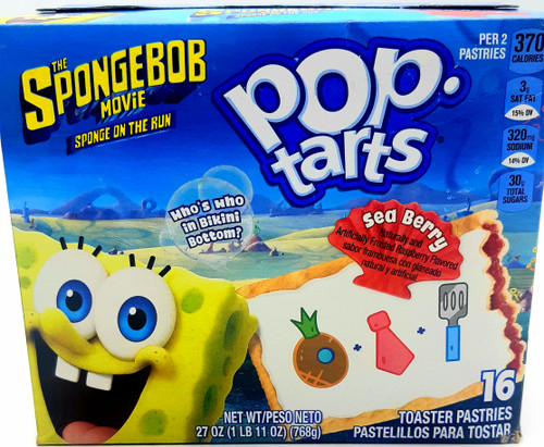 Pop Tarts  Spongebob Movie - Sea Berry