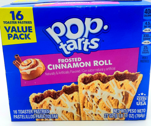 Pop Tarts Frosted  Cinnamon Roll Flavor