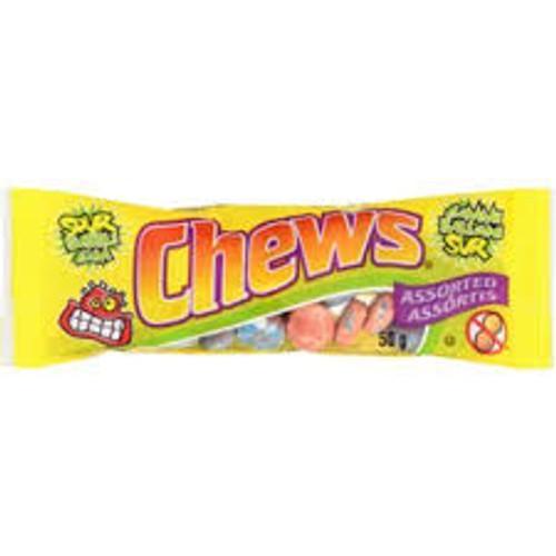Chews - Assorted Sour Gum