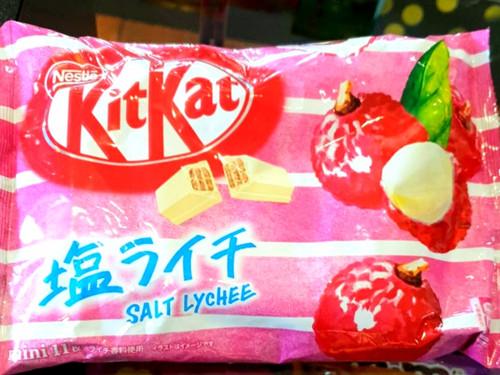 Kit Kat Salt Lychee