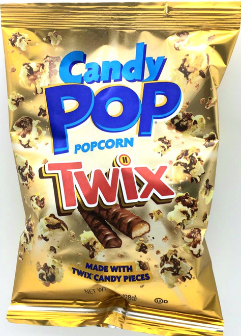 Candy Pop Popcorn Twix - 1oz