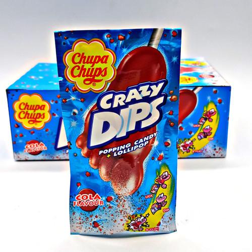 Chupa Chups Crazy Dips Cola Flavour