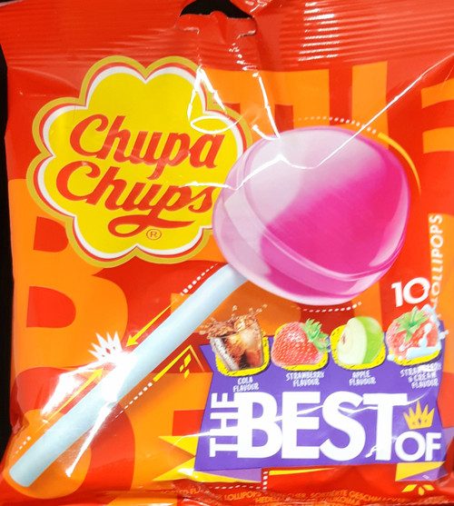 Chupa Chups The Best Of - 10 Lollipops