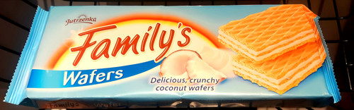 Family's Wafers - Coconut Flavored 180g