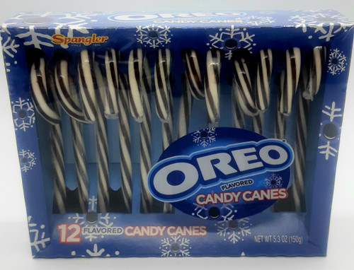 Oreo Flavored Candy Canes 12 ct