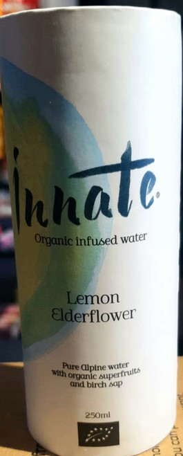 Organic Infused Water Elderflower