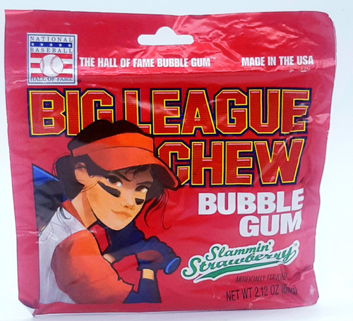Big League Chew Girl Strawberry