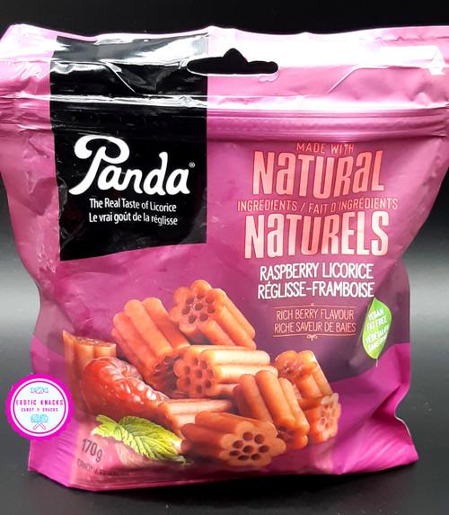 Panda All Natural Soft Raspberry Licorice
