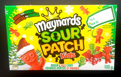 Sour Patch Kids Christmas Edition  3.1oz