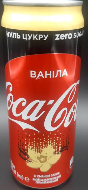 Coca Cola Vanilla Zero (Russia)