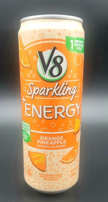 V8 +Energy Sparkling Healthy Energy Drink Orange Pineapple