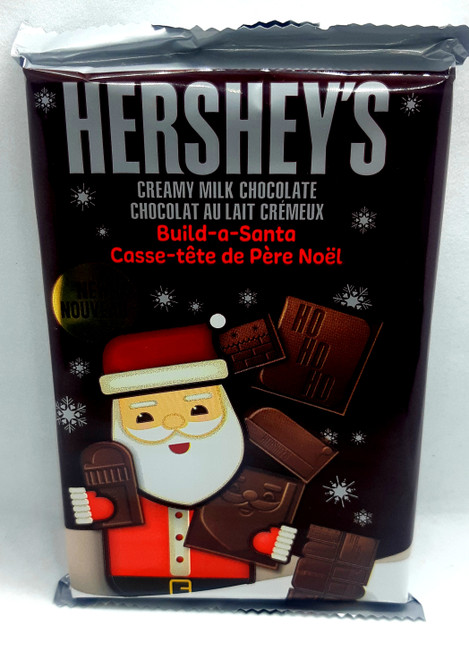 Hershey's Milk Chocolate Build a Santa