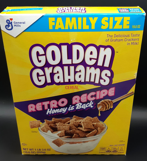 Golden Grahams Retro Recipe Cereal