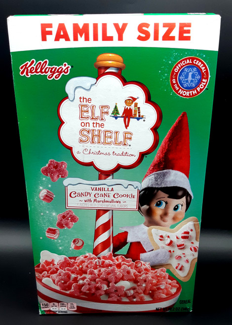 Elf on The Shelf Vanilla Cane Cookie with Marshmallow Cereal