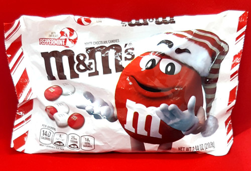 M&M White Chocolate Peppermint