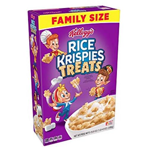 Kellogg's Rice Krispies Treats Breakfast Cereal 20.8 Oz