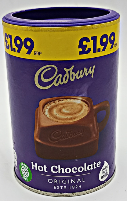 Cadbury Original Hot Chocolate Powder