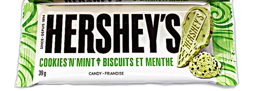 Hershey's Cookies and Mint Chocolate