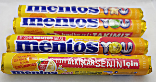 Mentos Strawberry Banana