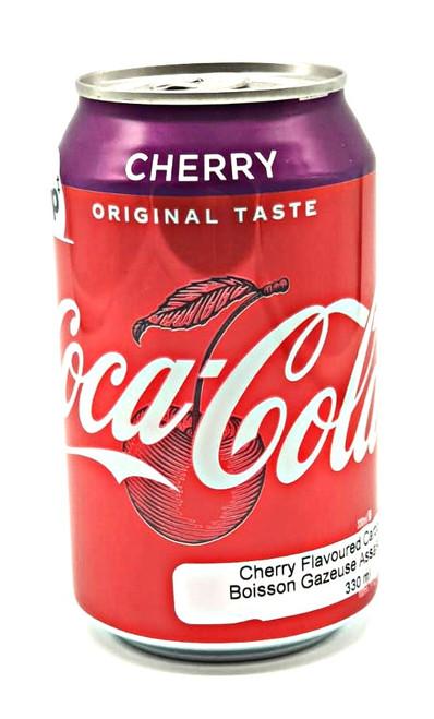 Coca Cola Cherry  (UK Can)