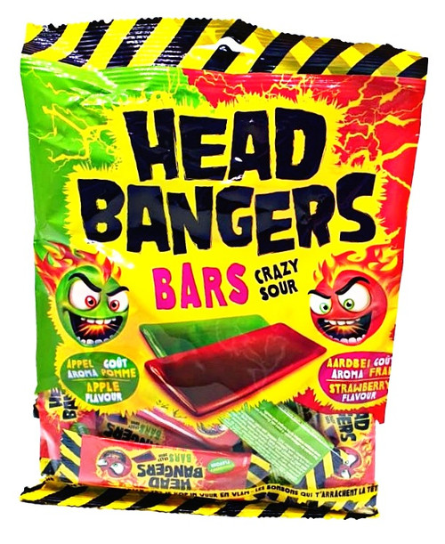 Head Bangers Strawberry Apple Chewy Bar