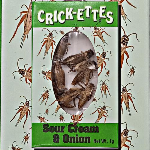 Crick-ettes Sour Cream and Onion Crickets