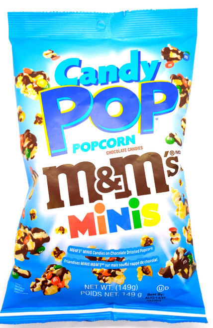 Candy Pop Popcorn M&M's Minis