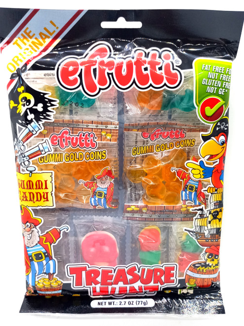 E-Frutti Gummi Candy Treasure Hunt 77g