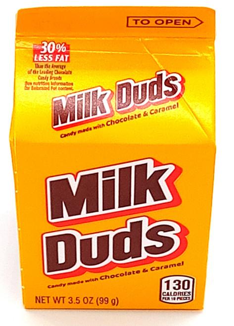 Milk Duds Carton