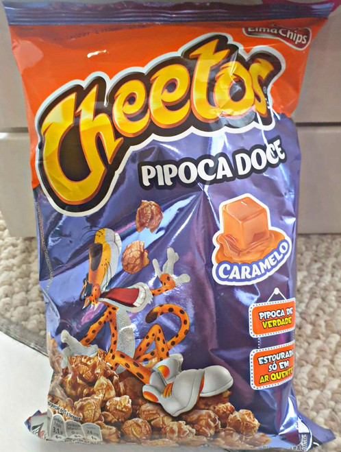 Brazilian Cheetos Caramel Popcorn