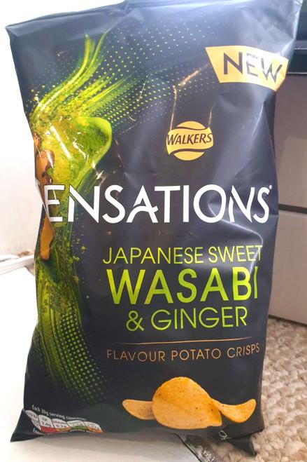 Sensations Japanese Sweet Wasabi & Ginger Crisps