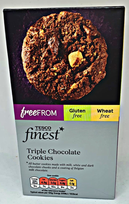Finest Free From Triple Chocolate Cookies